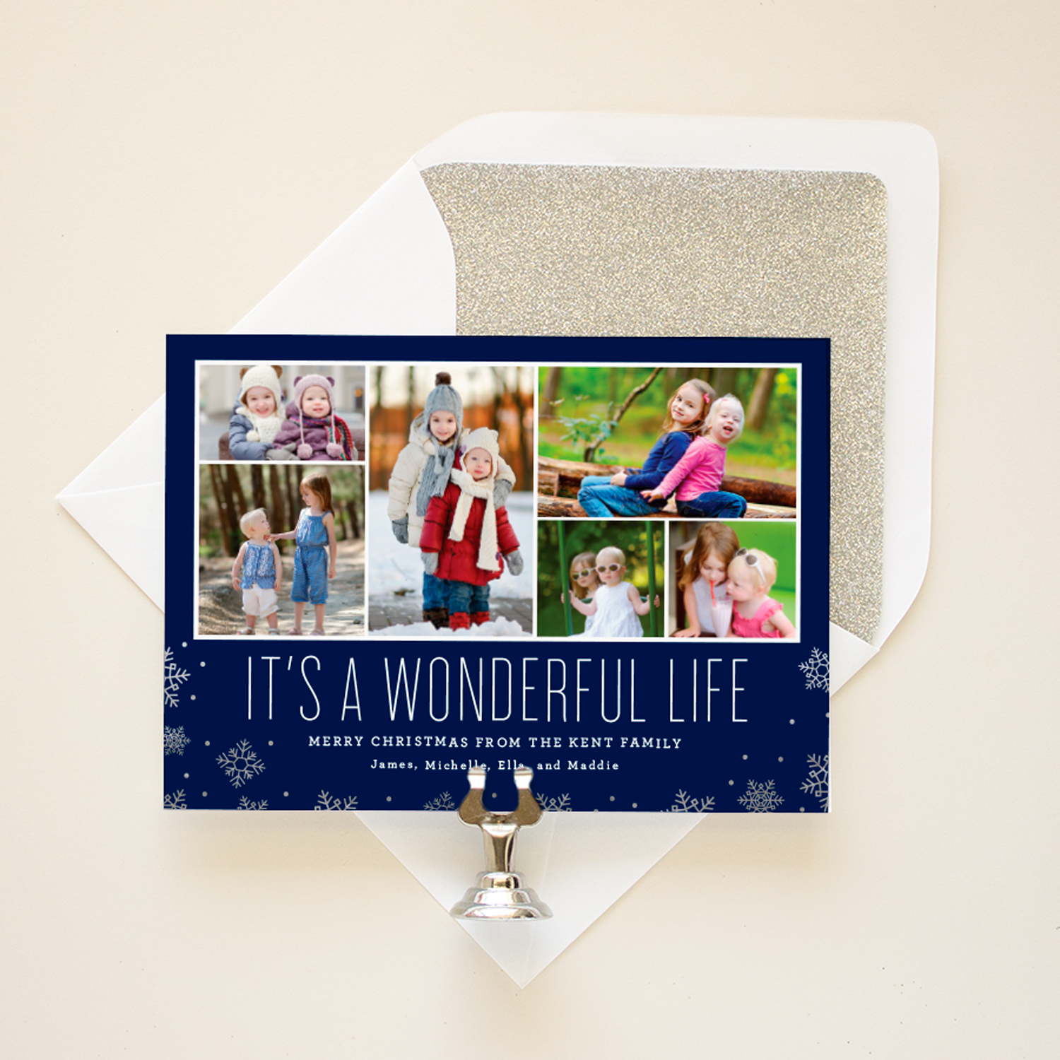 its a wonderful life christmas card